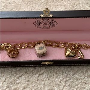 Juicy Couture Bracelet with TWO free CHARMS!